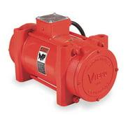 VIBCO 4P-700-1 Electric Vibrator,6.0/3.0A,230V,1-Phase