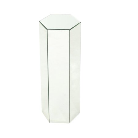 Maridel Mirrored Plant Stand Table
