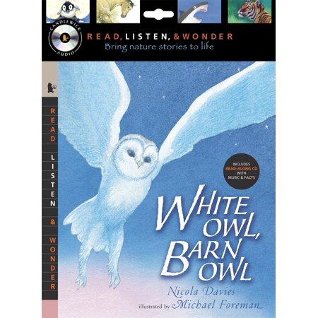 White Owl, Barn Owl with Audio, Peggable : Read, Listen, & Wonder - Reading Owl