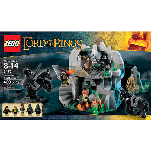 Lego Lord of the Rings Attack on Weathertop Play Set