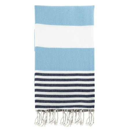 Swan Comfort 100% Cotton Pestemal Turkish Bath & Beach Towel, 39