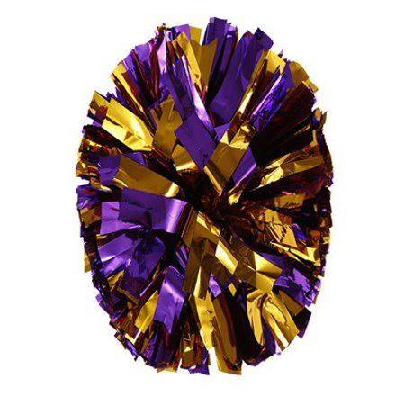 Metallic Foil Colorful Ball Cheer Leading Flower Ball Cheerleader Dance Performance Hand Flower Hand Flower (Colorful Enamel Flower)
