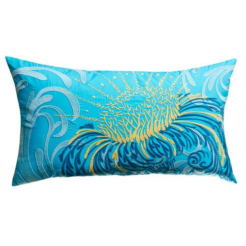 Koko Company Water Cotton Lumbar Pillow