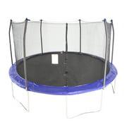 Best Trampolines - Skywalker Trampolines 15-Foot Trampoline, with Enclosure, Blue Review