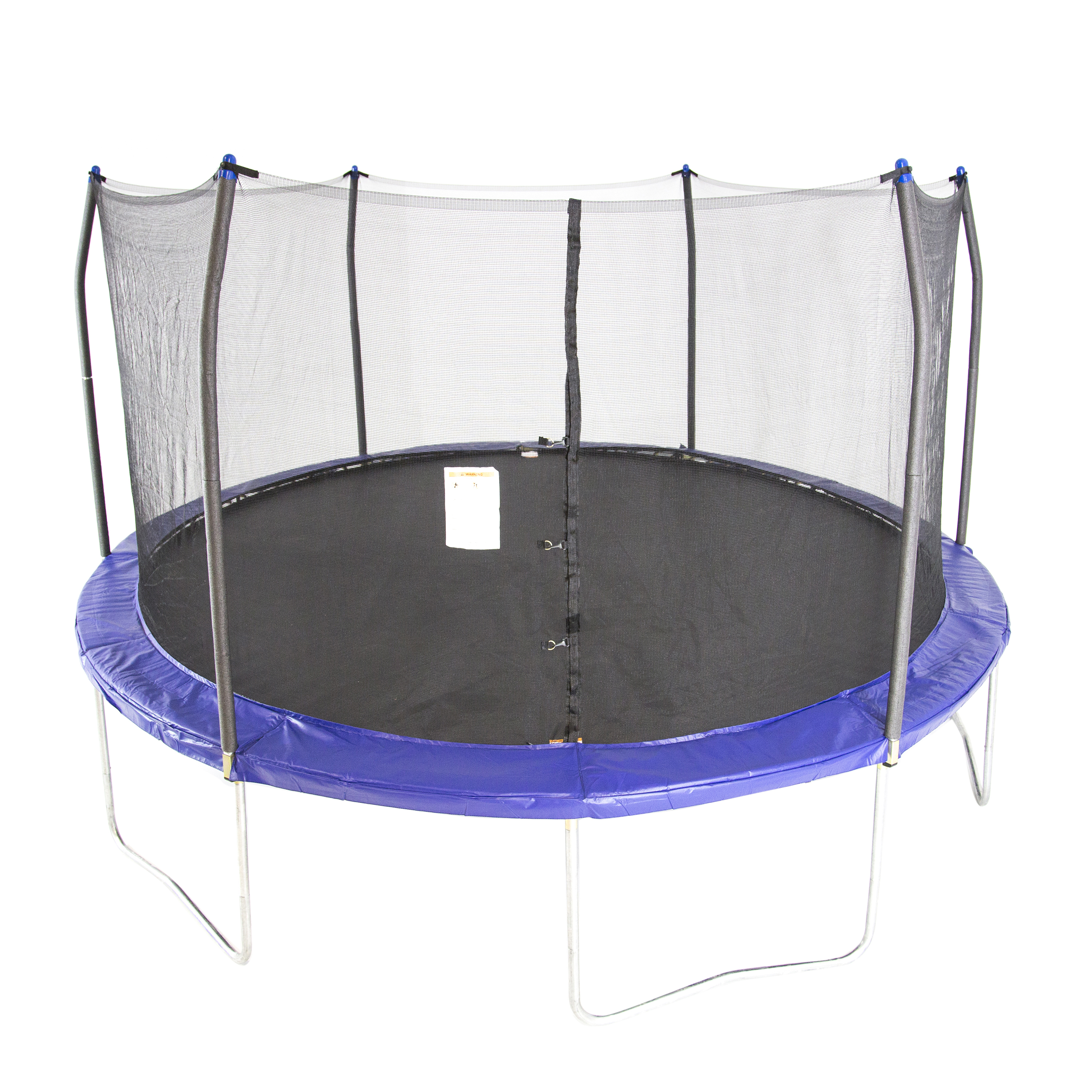 Skywalker Trampolines 15-Foot Trampoline, with Enclosure, Blue