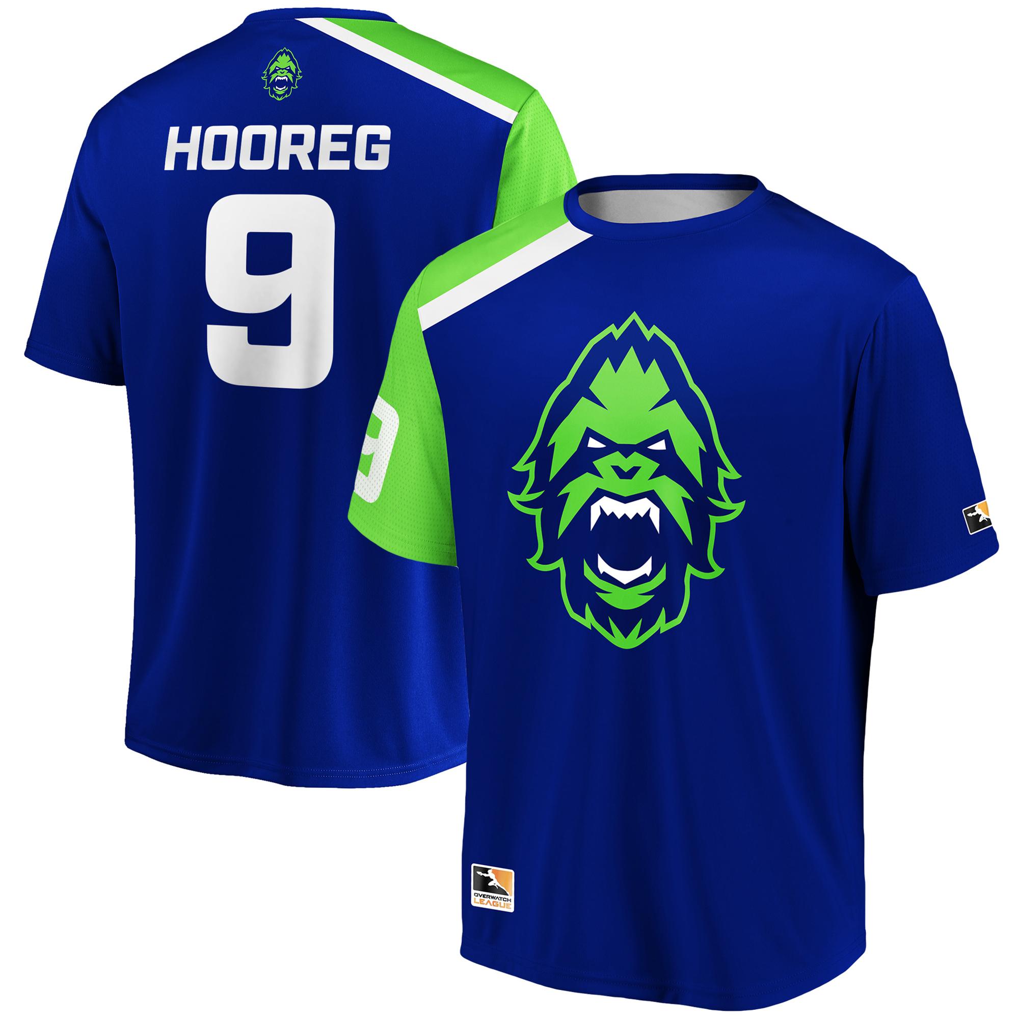 Hooreg Vancouver Titans Overwatch League Replica Home Jersey - Blue