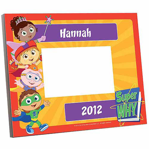 Personalized Super Why! Super Readers Picture Frame