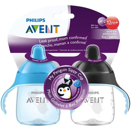 penguin sippy cup mixed