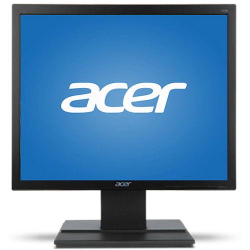 "Acer Essential 17"" LCD Monitor (V176L b, Black)"