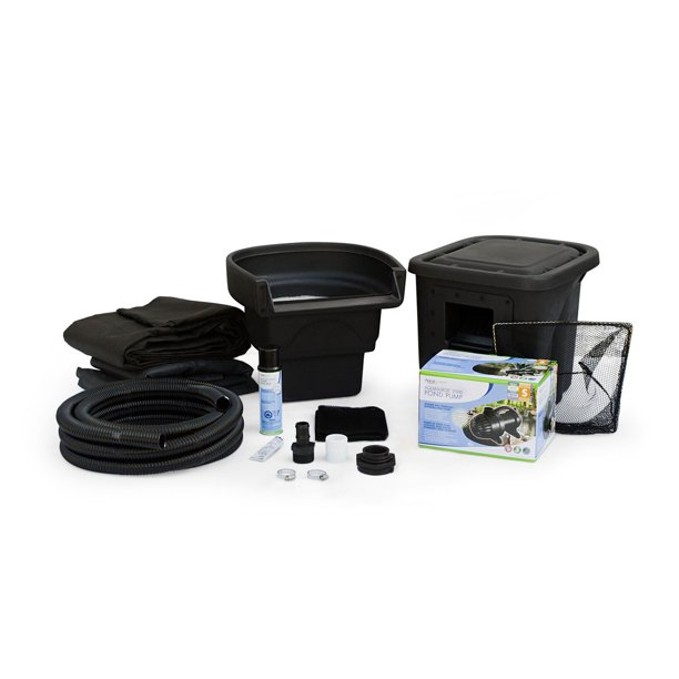 Aquascape Backyard Ecosystem DIY Pond Kit 4 Feet x 6 Feet ...