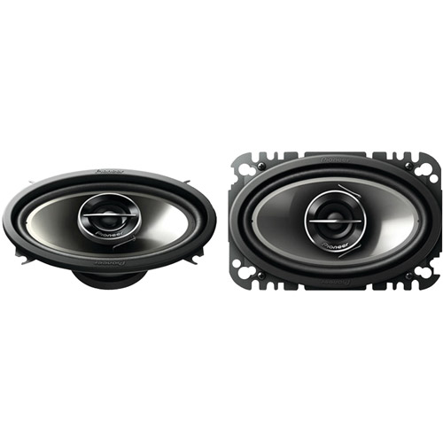 """PIONEER TS-G4644R 4"""" x 6"""" G-Series 200-Watt 2-Way Speakers"""