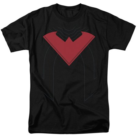 Nightwing Costume (Batman Nightwing 52 Costume Mens Short Sleeve)