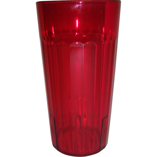 Mainstays 20-Pack 20oz Acrylic Tumbler, Fearless Red