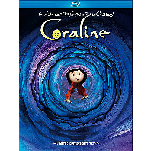 UNIVERSAL HOME ENTERTAINMENT Coraline Gift Set (2 - Disc Limited Edition) (Blu - ray) (Widescreen)