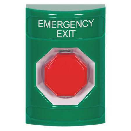 Emergency Exit Push Button,Green Color SAFETY TECHNOLOGY INTERNATIONAL SS2105EX-EN