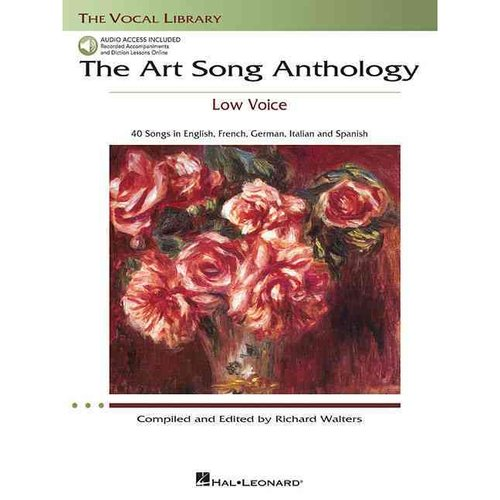 The Art Song Anthology: Low Voice