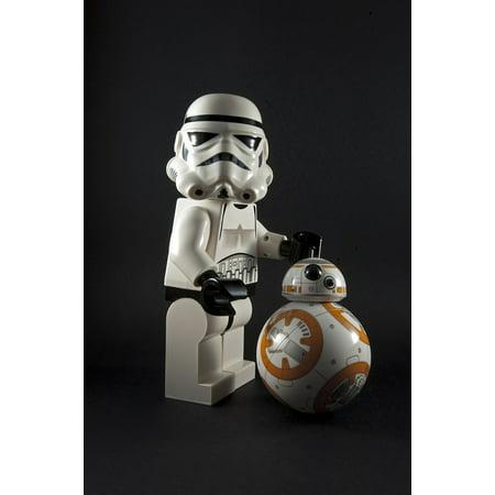 LAMINATED POSTER Darth Vader Stormtrooper R2d2 Wars C3po Star Bb8 Poster Print 24 x 36 (R2 D2 Posters)