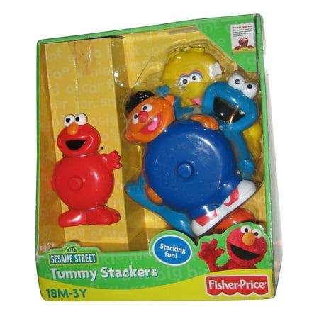 Fisher-Price Sesame Street Tummy Time Pals