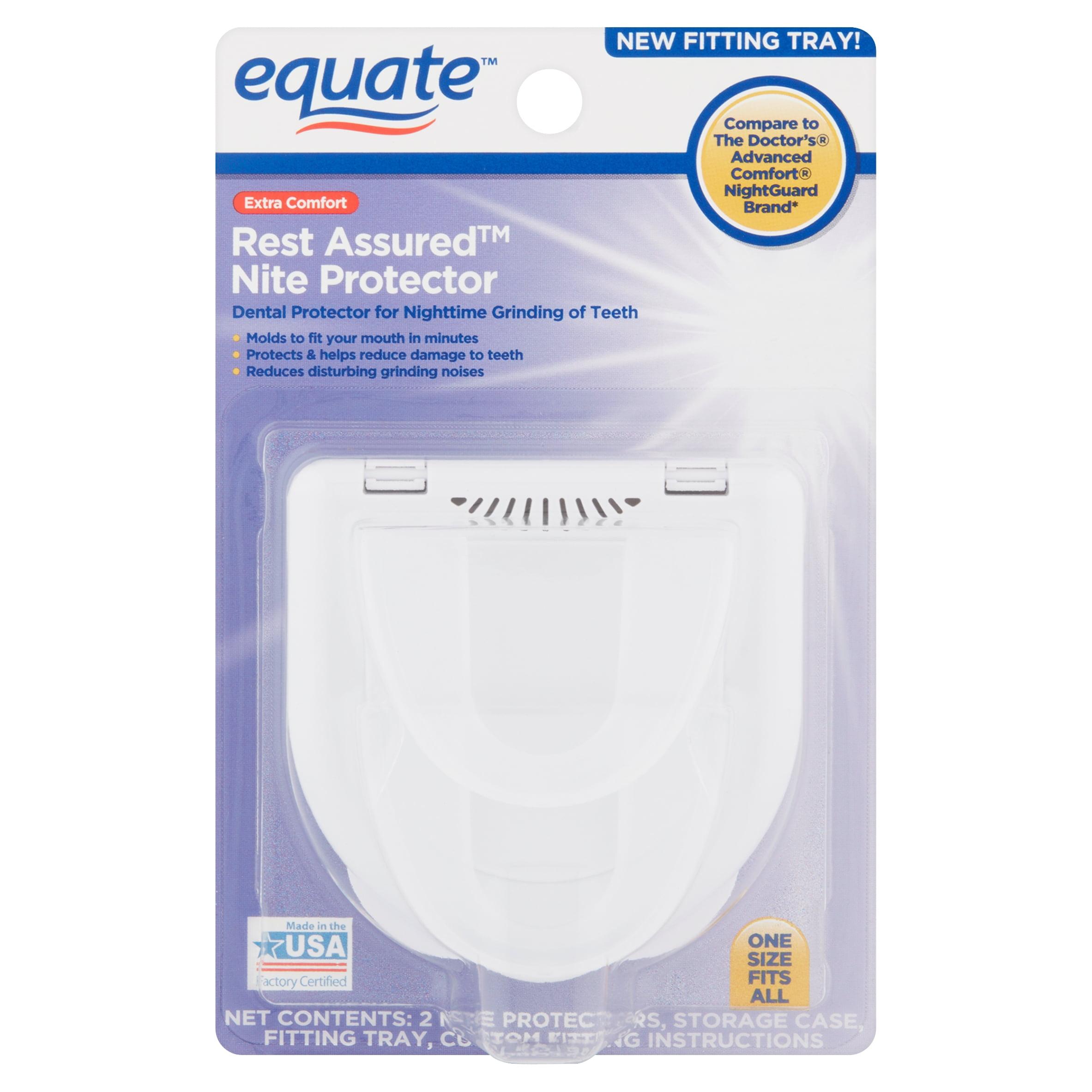 Equate Extra Comfort Rest Assured Dental Nite Protector, 1