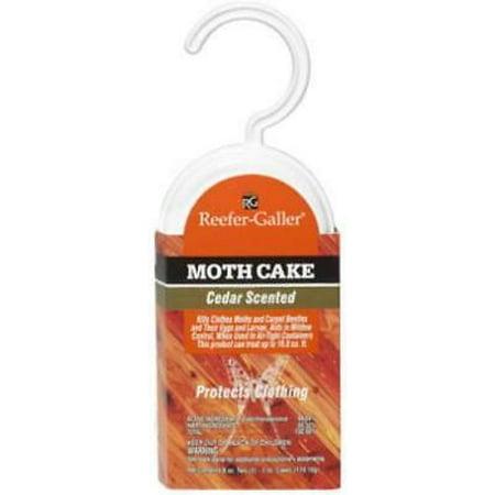 Moth Cake (Cedar-Ize 6 OZ Moth Cake 2PK)