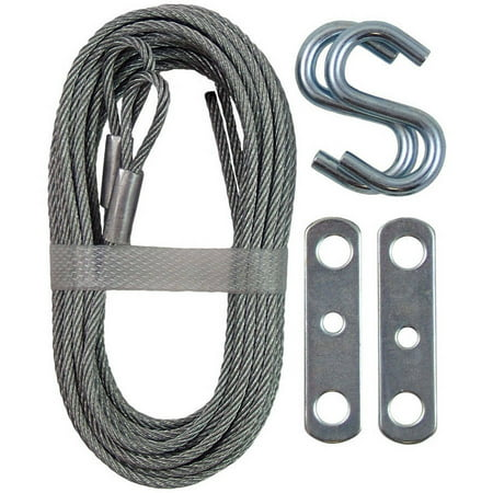 12' Garage Door Extension Cable, 2pk (Header Size For 12 Foot Garage Door)
