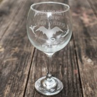 20oz Queen of Ashes Wine Glass
