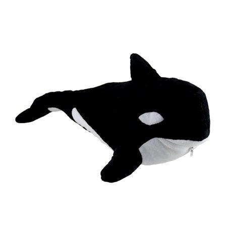 Adorable Orca Whale Dive Soft Plush Stuffed Animal Pillow