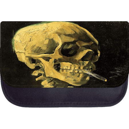 Skull of Skeleton with a Burning Cigarette - 5