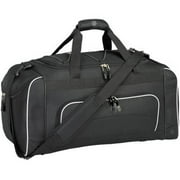 "24"" Duffel with Wet Shoe Pocket, Black"