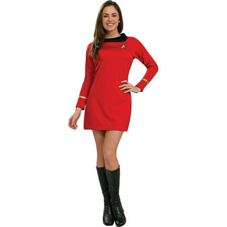 Morris Costumes Womens Tv & Movie Characters Star Trek Dress Red M, Style RU889061MD