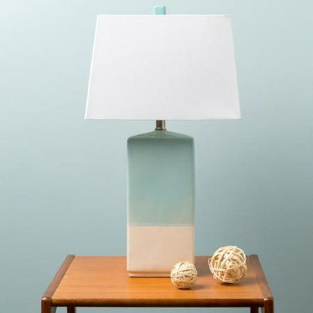 rustic isamu table lamp with glazed ceramic base. Black Bedroom Furniture Sets. Home Design Ideas
