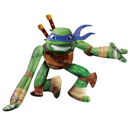Teenage Mutant Ninja Turtles - Leonardo AirWalker Foil Balloon](Ninja Turtles Birthday Supplies)