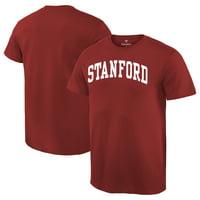 Stanford Cardinal Basic Arch T-Shirt - Cardinal
