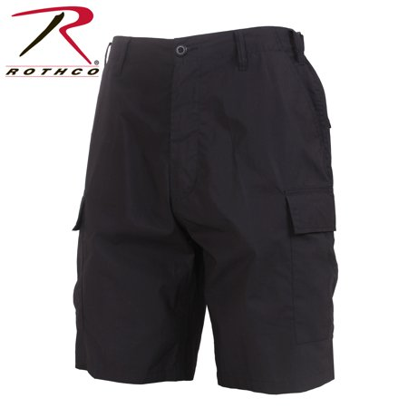 Rothco Lightweight Tactical BDU Shorts - Black, Small