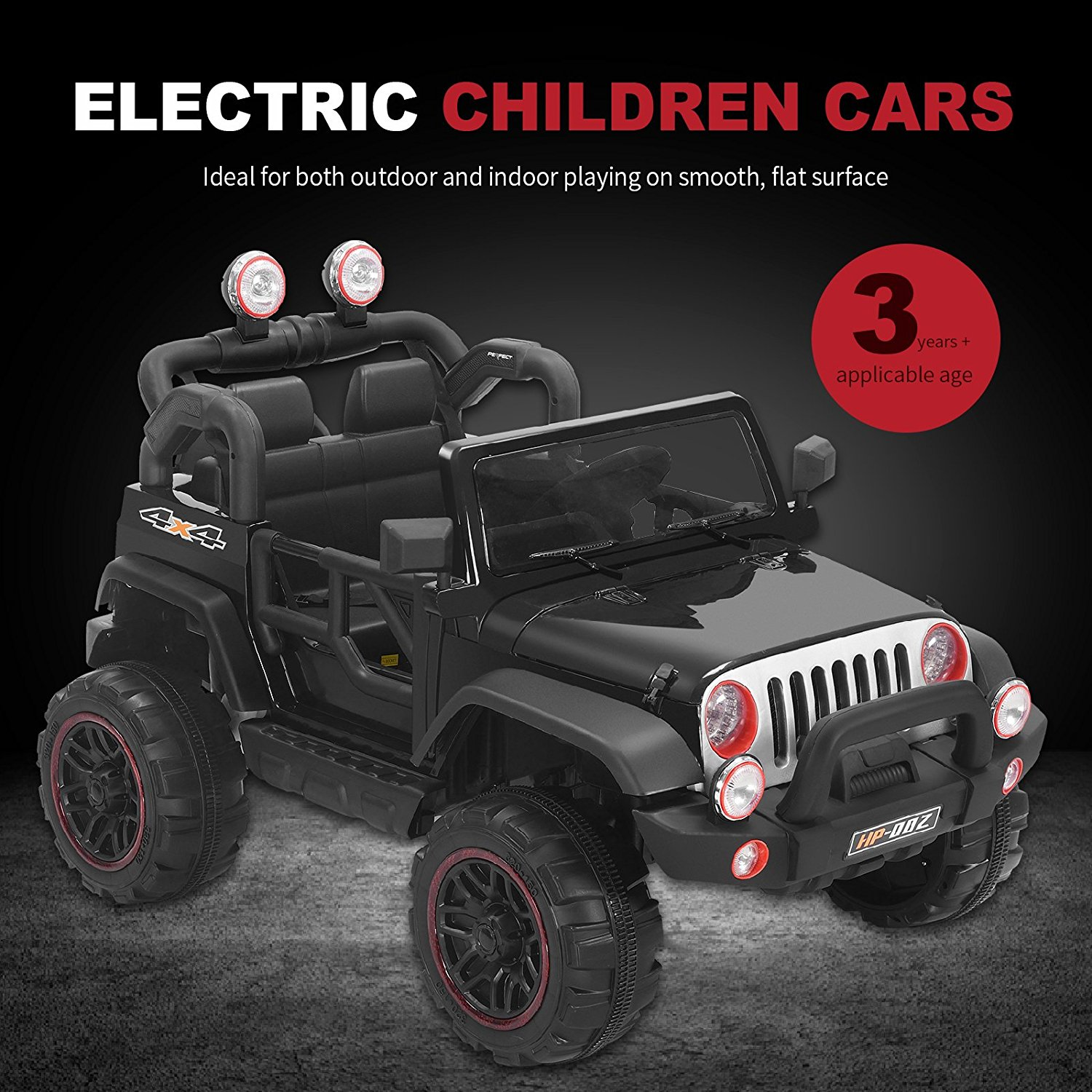 12V Kids Ride on Cars Electric Battery Power Wheels Remote Control 2 Speed by Uenjoy