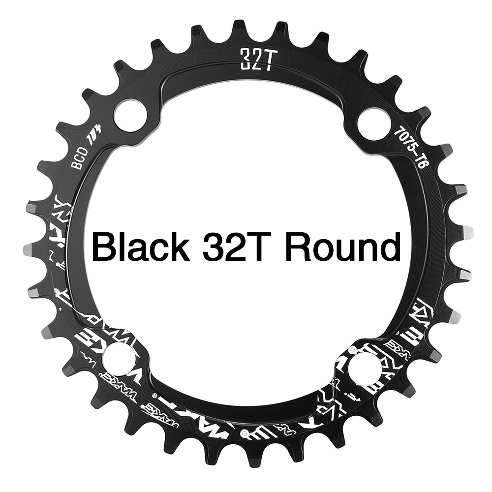 Chainwheel Oval Outdoor Replacement 104mm BCD Chainring Aluminum alloy