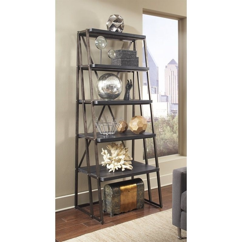 Pulaski Vintage Tempo Bookcase in Black