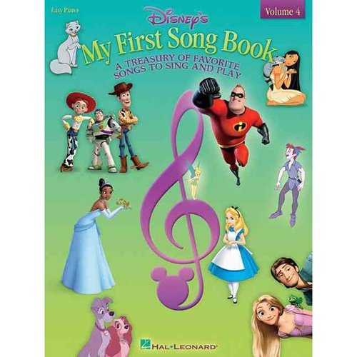 Disney's My First Songbook: A Treasury of Favorite Songs to Sing and Play: Easy Piano
