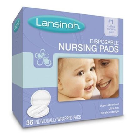 Disposable Nursing Pad 72 Count Soft (36 Count)-Pack of 2 by Lane Labs