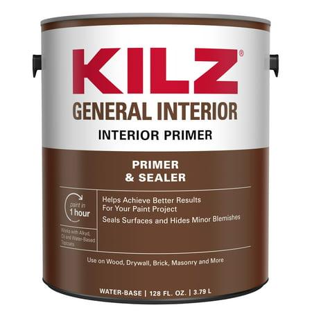 Drywall Primer (KILZ General Interior Primer & Sealer)