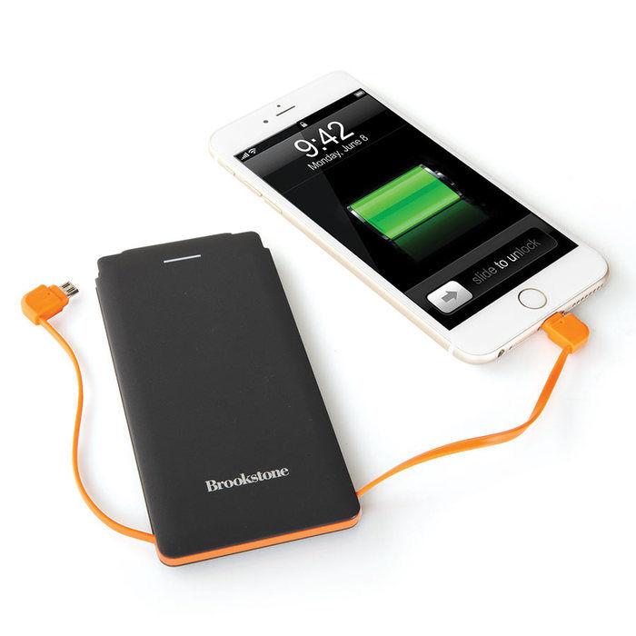 Brookstone Slim Rechargeable 6000mAh Battery by Brookstone