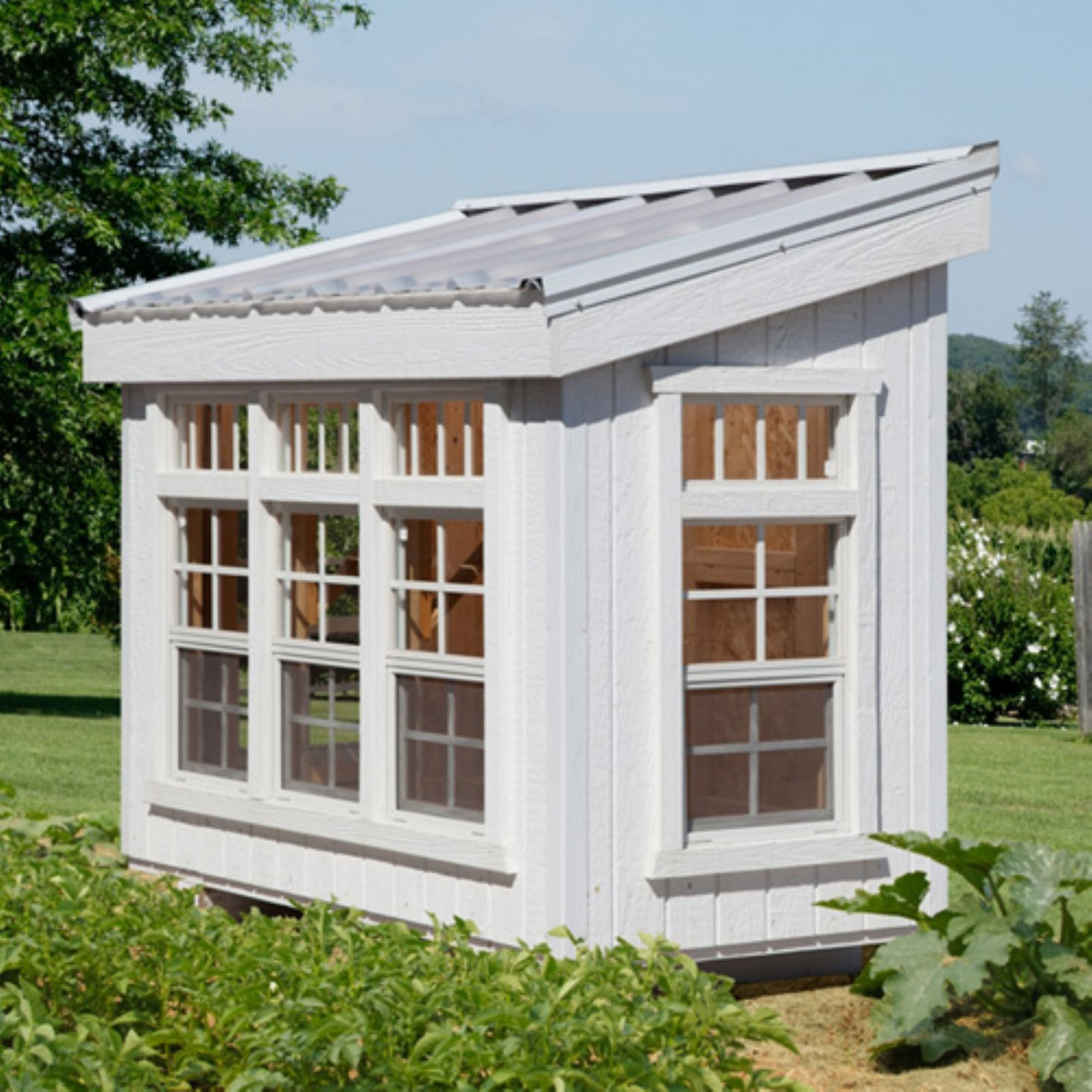 Little Cottage Petite Greenhouse with Floor Kit