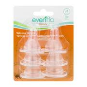 Evenflo Classic Nipples 0-3m - 6 CT