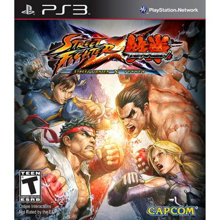 Street Fighter X Tekken (PlayStation 3) (Street Fighter 25 Ps3)