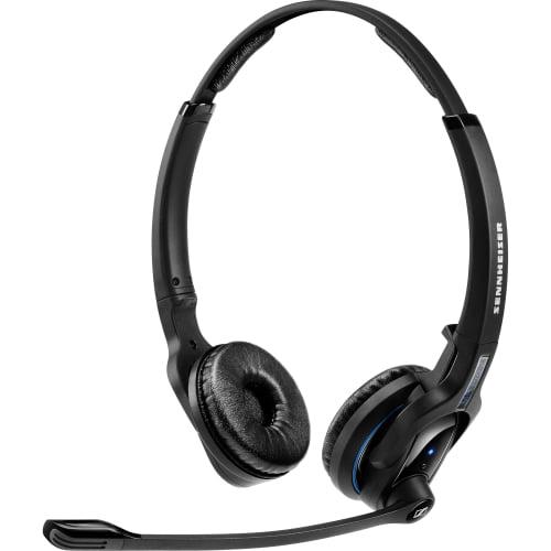 Sennheiser MBPro2 Sennheiser MB Pro 2 Headset - Stereo - Wireless - Bluetooth - 82 ft - 150 Hz - 15 kHz - Over-the-head - Binaural - Supra-aural - Noise Cancelling Microphone