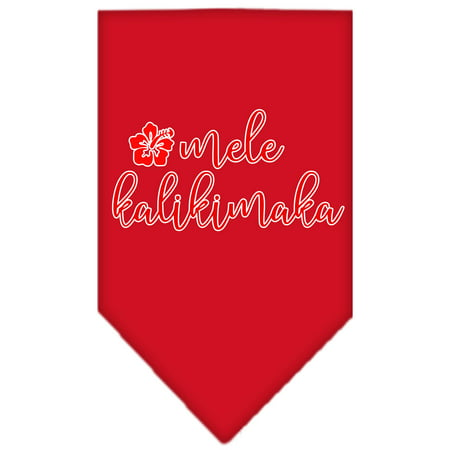 Mele Kalikimaka Screen Print Bandana Red Small](Red Pirate Bandana)