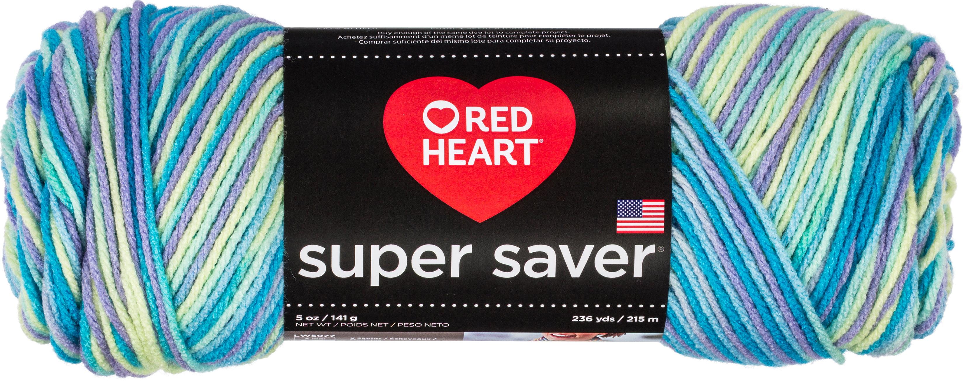 3 Pack Red Heart Super Saver Pooling Yarn-Stillwater