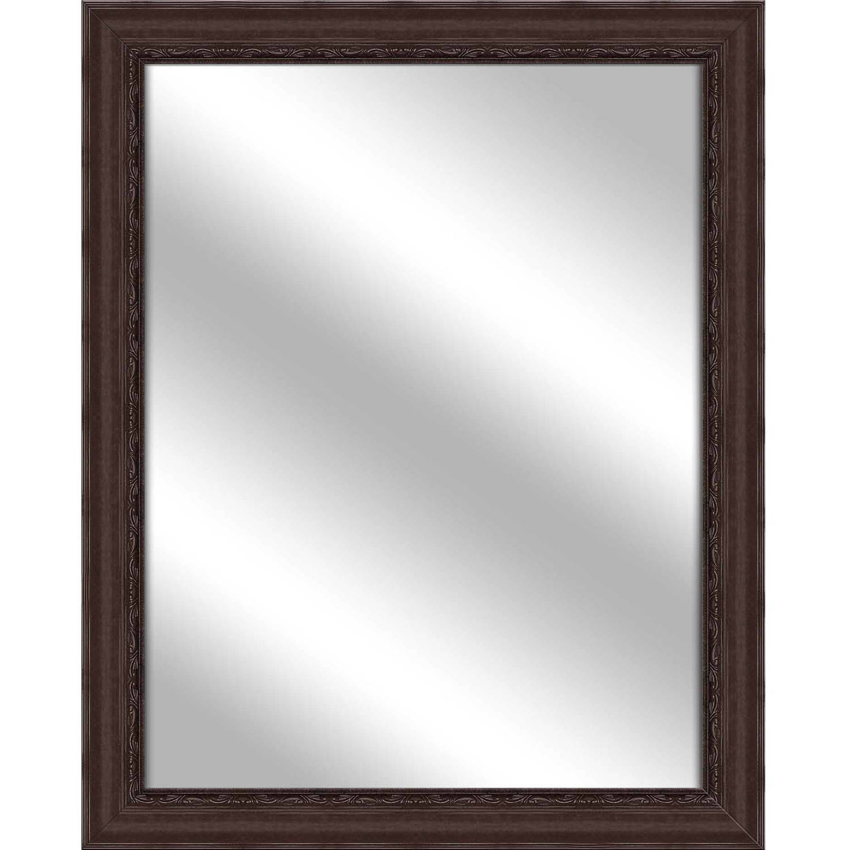 Vanity Mirror, Brown, 25.75x31.75 by PTM Images