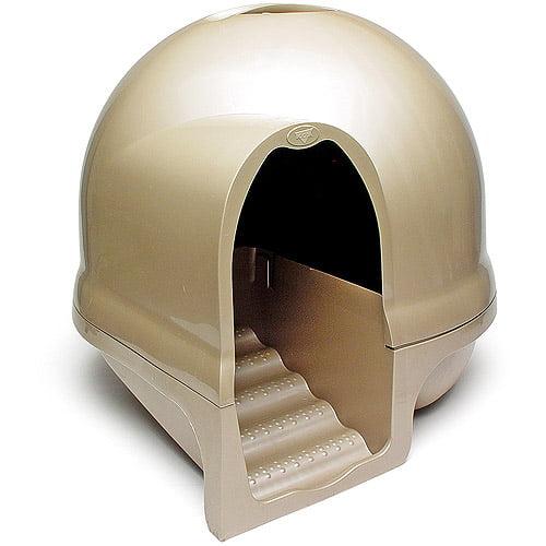 Booda Dome Cleanstep Cat Litter Box Walmartcom