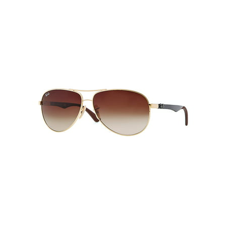 Ray-Ban Unisex RB8313 Aviator Carbon Fiber Sunglasses, 58mm ()